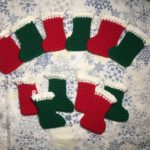 Mini Stocking Ornaments Crochet Pattern