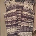 Tulip Sweater Vest Free Crochet Pattern