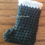 Mini Stocking Ornament Crochet Pattern