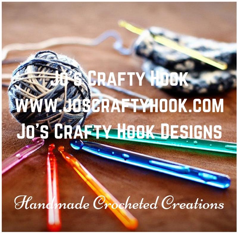 Jo's Crafty Hook Logo