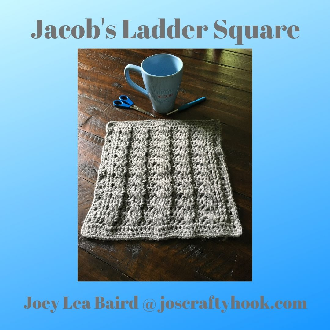 Jacob's Ladder Square for the Patchwork Mystery CAL