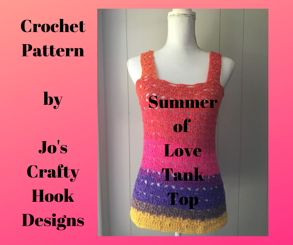 Summer of Love Tank Top Crochet Pattern