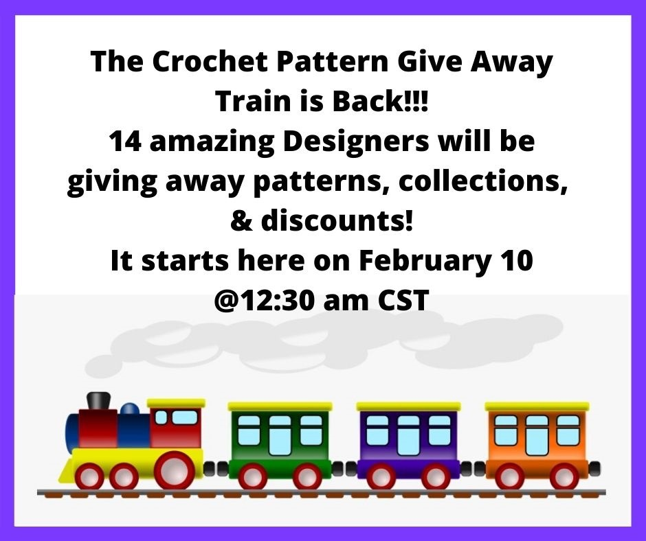 Free Pattern Giveaway Train