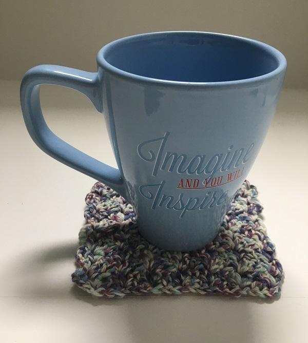 Tulip Mug Rugs Free Crochet Pattern