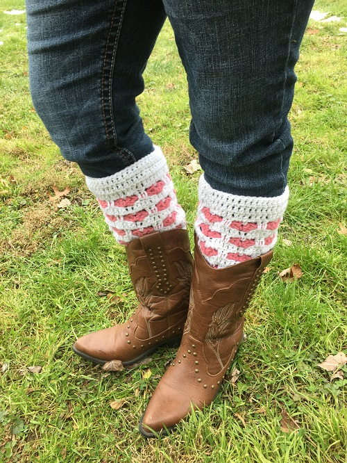 Wrapped in Love Boot Cuffs Crochet Pattern