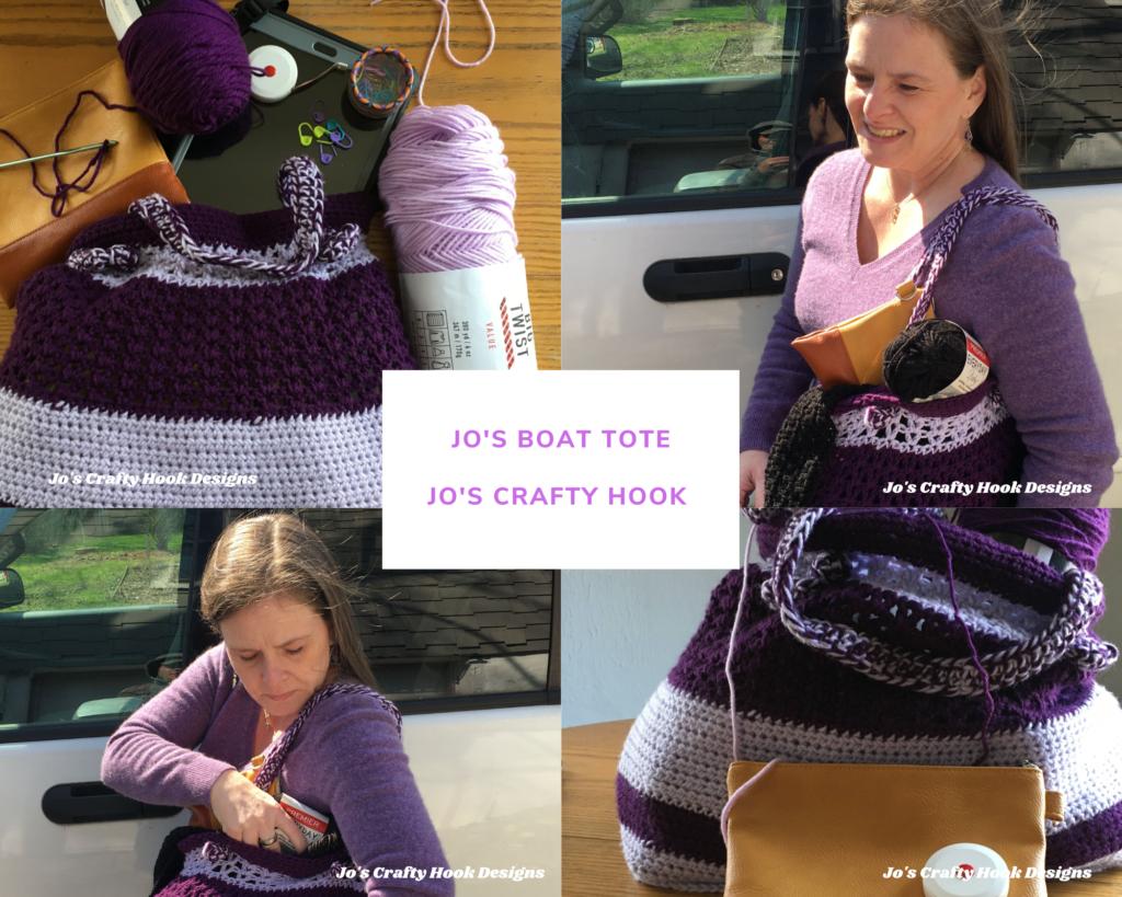 Jo's Boat Tote