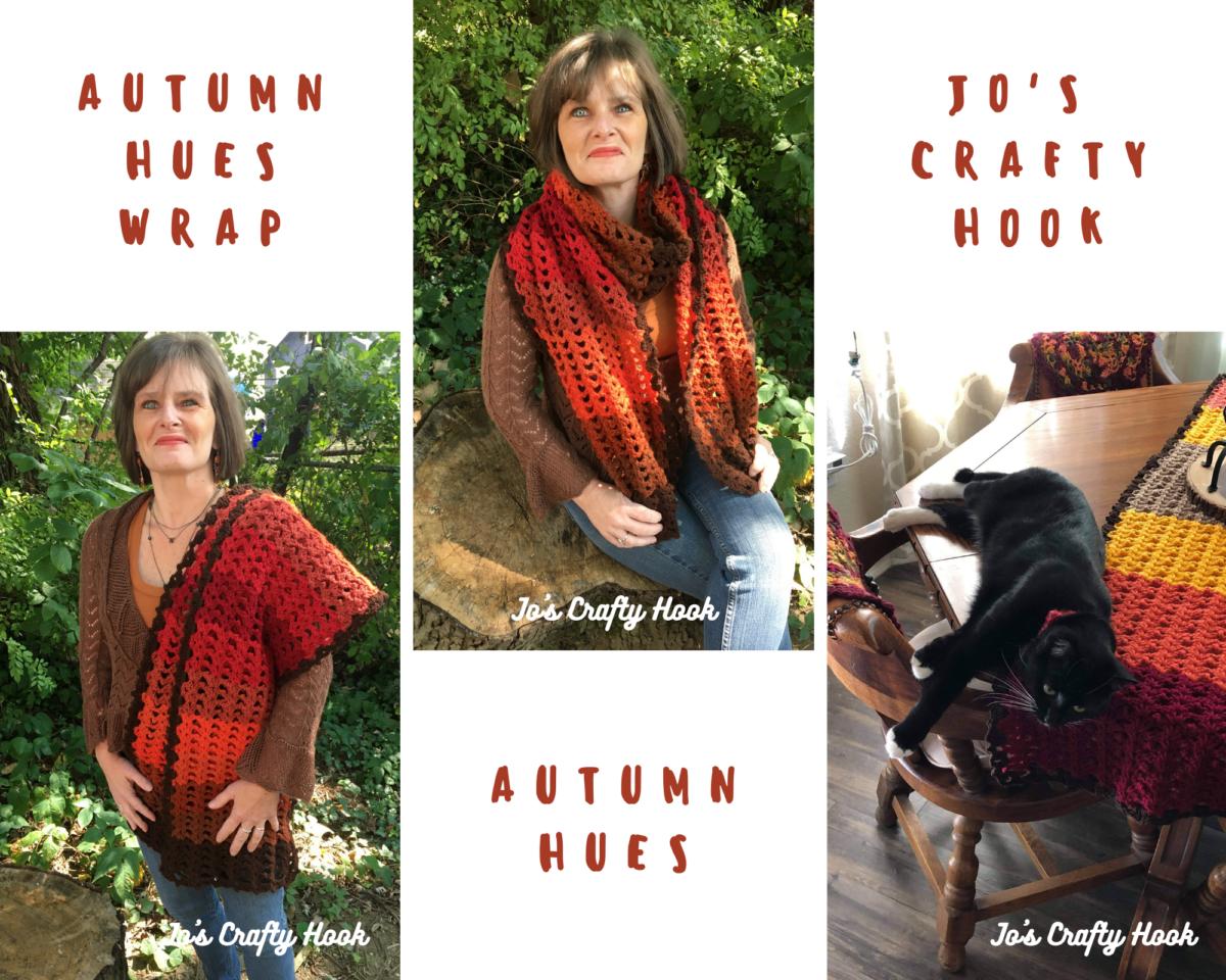 Autumn Hues Wrap Crochet Pattern